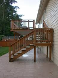 Back Stairs Design Best 25 Deck Stairs Ideas On Pinterest Deck Railings Outdoor