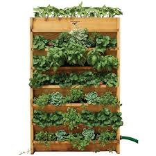 Hanging Herb Planters Vertical U0026 Wall Planters Pots U0026 Planters The Home Depot