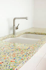 recycled glass backsplashes for kitchens kitchen 13 best millefiori glass images on recycled