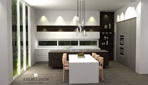 3d kitchen rendering ateliers jacob calgary