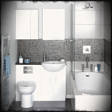 Backsplash Bathroom Ideas by Black And White Small Bathroom Ideas Thesouvlakihouse Com