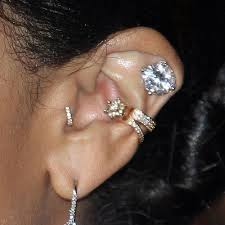 conch piercing cuff zoë kravitz s piercings jewelry style