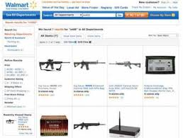 Gun Cabinets For Sale Walmart by How Creepy That Walmart Has Military Style Rifles On Its Web Site