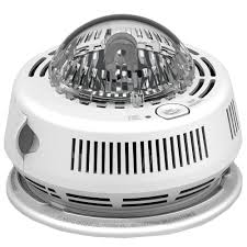 smoke detector flashing green light first alert brk photo electric hardwired smoke detector with strobe
