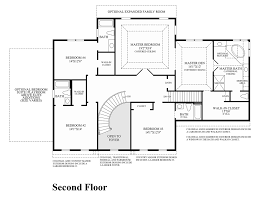 2nd Floor Plan Design Dutchess Farm Estates The Weatherstone Home Design