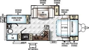 Rockwood Trailers Floor Plans Rockwood Mini Lite 2504s 4132 J U0026m Camper Sales Maine Camper