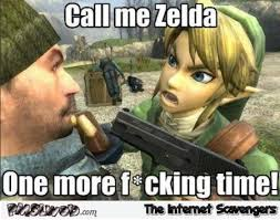Time Meme - call me zelda one more time meme pmslweb