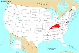 usa map kentucky state kentucky state in usa map all world maps