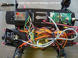 installing the fpv system in a fpv racing quadcopter