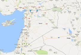 Map Of Russia And Syria by Russians Are Fighting Near Americans On Same Side Of Syria U0027s