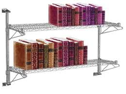 Wall Mounted Wire Shelving Wall Mounted Wire Shelving Systems To Use In Your Garage