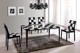 white dining table black chairs the best simple dining room ideas amaza design