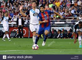nou c barcelona spain 15th oct 2016 la liga football stock