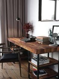 grand bureau en bois built in cypress desk at luke mortimer s home in australia rent it