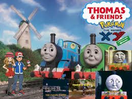 thomas friends xy crossover stories