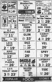 popular grocery stores popular food stores ad the great depression pinterest