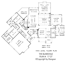 Mountain House Floor Plans by Blairsville House Plan House Plans By Garrell Associates Inc