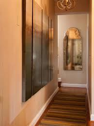 photos hgtv narrow hallway with ornate mirror loversiq