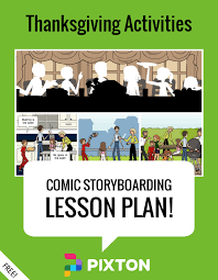 lesson plan thanksgiving activities