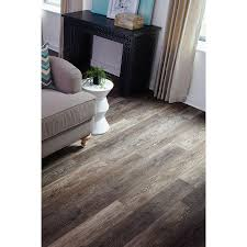 Lowes Floating Floor Shop Stainmaster 10 Piece 5 74 In X 47 74 In Washed Oak Umber