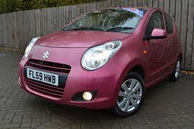 pink and black cars used suzuki alto pink for sale motors co uk