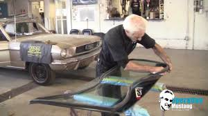mustang lexan windows operation mustang windshield install made easy