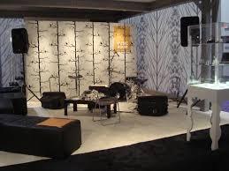 interior elegant home music studio interior design and floral