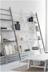 ana white leaning ladder shelf jessie white wide leaning bookcase