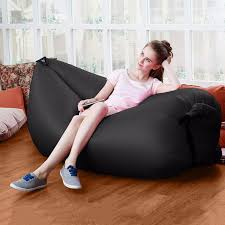 Inflatable Sofa Bed Mattress by Inflatable Sofa Air Bed Beach Lazy Sleeping Sofa Mattress Seat