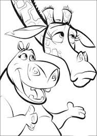 madagascar coloring pages printable free cartoon