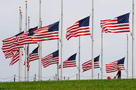Flag Day Images Us National Flags At The Washington Monument Fly At Half Mast In