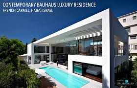bauhaus floor plan contemporary bauhaus luxury residence u2013 french carmel haifa