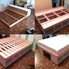 Bookcase Bed Frame Bookshelf Made From A Pine Bed Frame Google Search Bed Frames