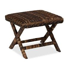 seagrass stool pottery barn