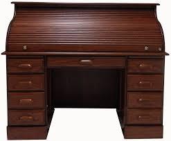 solid oak roll top desk 54 1 2 w deluxe solid oak roll top desk w laptop clearance