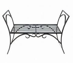 Wrought Iron Benches For Sale Metal Garden Benches For Sale Foter