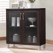 sideboard curio display cabinet glass door dining buffet storage