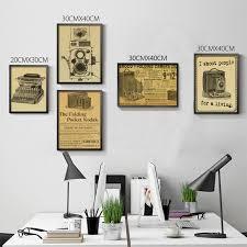 Nostalgia Home Decor Camera Nostalgia Old Poster Advertising Posters Decorative