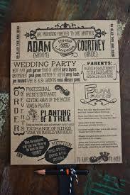 rustic wedding fan programs rustic wedding fan program with word search on back wedding