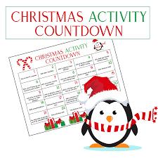christmas countdown calendar ultimate christmas calendar countdown kids will