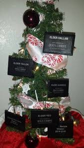 six custom lds ornaments by minimoments