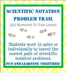 working with scientific notation teaching scientific notation 4 questions to help students