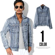 Light Denim Jacket Lux Style Rakuten Global Market Bitter Denim Jacket Mens G Jan