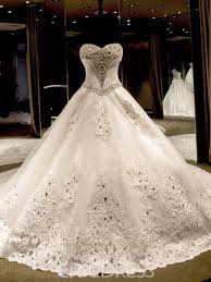 eric dress ericdress sweetheart beading cathedral wedding dress