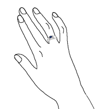 diamond ring coloring pages round solitaire blue sapphire color cz mens engagement ring silver