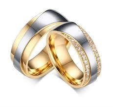 wedding band sets for 2017 luxury vintage18k gold plating cz new infinity design