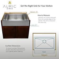 metal kitchen sink and cabinet combo auric sinks 27 retro fit farmhouse flat front apron ledge single bowl stainless steel kitchen sink sfal 16 27 retro sgl combo