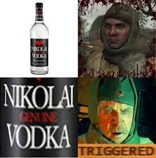 Vodka Meme - nikolai vodka triggered meme by josael281999 on deviantart