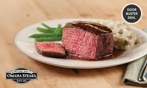 omaha steaks gift card omaha steaks variety packs groupon goods