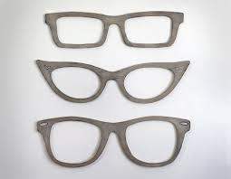 eyeglasses wall decor cats eye glasses wayfarer square glasses